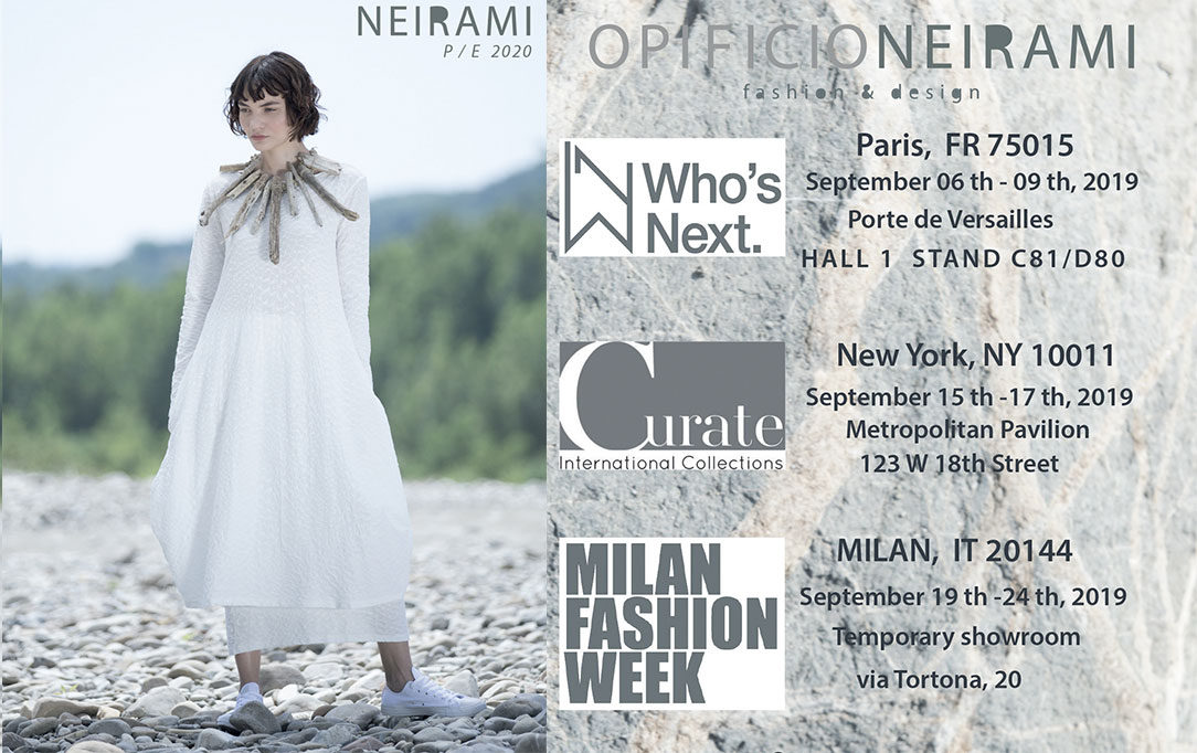 NEIRAMI sales campaign SPRING SUMMER 2020